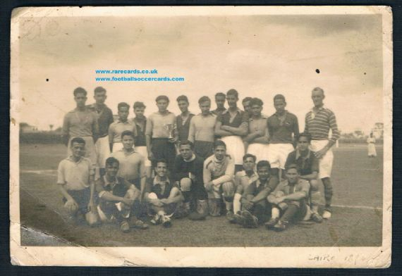 1940s GB army football Cairo team